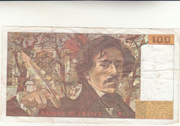 Cent Francs, Banque De France Banconota 1984 Pieghe Ma Integra - 1962-1997 ''Francs''