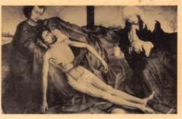 Roger De La Pasture Dit Van Der Weyden - Piéta - Nood Gods (Musée De Bruxelles) - Pittura & Quadri