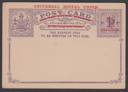 Victoria 1.5d/2d Stationery Card Mint - 1850-1912 Victoria