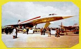 En L'état CPM Avion Supersonique CONCORDE (Salon D'Aéronautique) ° Images De France ** AVIATION - 1946-....: Modern Era