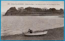 CPA 29 PRIOLDY-en-ROSNOEN Rivière Du Faou - La Pointe De Prioldy Vue De La Presqu'ile D'Arun ° Le Doaré 1708 * Finistère - France