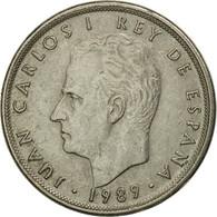Monnaie, Espagne, Juan Carlos I, 5 Pesetas, 1989, TB+, Copper-nickel, KM:823 - [ 5] 1949-… : Royaume