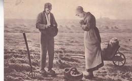 ANGELUS, MILLET. CIRCA 1900s- BLEUP - Pittura & Quadri