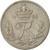 Monnaie, Danemark, Frederik IX, 10 Öre, 1954, Copenhagen, TB+, Copper-nickel - Denmark