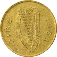 Monnaie, IRELAND REPUBLIC, 20 Pence, 1988, TB+, Nickel-Bronze, KM:25 - Irlande