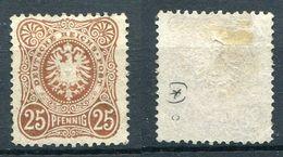 D. Reich Michel-Nr. 43c Ungebraucht - Geprüft - Deutschland