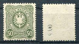 D. Reich Michel-Nr. 44b Ungebraucht - Geprüft - Deutschland