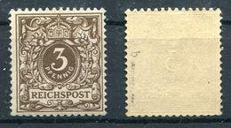 D. Reich Michel-Nr. 45b Postfrisch - Geprüft - Deutschland
