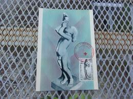 FRANCE (1963) CROIX ROUGE - Maximum Cards