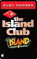 Chip-In Island Resort Casino Harris MI - Ruby Member Slot Card - Casino Cards