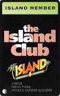 Island Resort 7 Casino Harris MI - Island Member Slot Card - Casino Cards