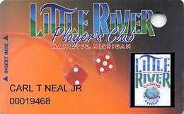 Little River Casino Manistee, MI - Slot Card - No Text Over Mag Stripe - Casino Cards