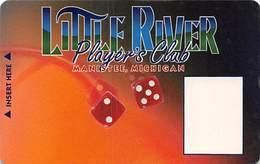Little River Casino Manistee, MI - Slot Card - CPICA 25265 Over Mag Stripe - Casino Cards