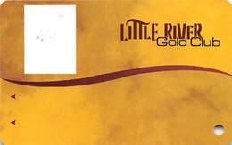 Little River Casino Manistee, MI - BLANK GOLD CLUB Slot Card - Casino Cards