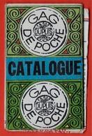 Catalogue Dépliant DUPUIS Gag BD De Poche - Présentation Des Personnages Dont Lucky Luke, Gaston, Peanuts, Boule Et Bill - Books, Magazines, Comics