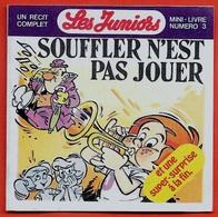 """Mini Livre BD Publicitaire """"Les Juniors"""" N° 3 """"Souffler N'est Pas Jouer"""" - Books, Magazines, Comics"""