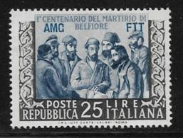 Trieste Zone A, Scott # 162 MNH Italy # 618 Overprinted, 1953 - 7. Triest