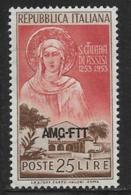 Trieste Zone A, Scott # 169 MNH Italy # 625 Overprinted, 1953 - 7. Triest