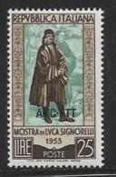 Trieste Zone A, Scott # 186 MNH Italy # 639 Overprinted, 1953 - 7. Trieste
