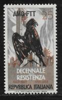 Trieste Zone A, Scott # 200 MNH Italy # 653 Overprinted, 1954 - 7. Trieste