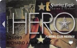 Soaring Eagle Casino - Mt. Pleasant, MI USA - Slot Card - 7 Lines Text - Casino Cards