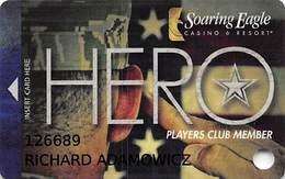 Soaring Eagle Casino - Mt. Pleasant, MI USA - Slot Card - 8 Lines Text - Casino Cards