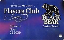 Black Bear Casino - Carlton, MN - Slot Card - Casino Cards