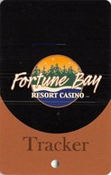 Fortune Bay Casino - Tower, MN - Tracker Level Slot Card  (BLANK) - Casino Cards