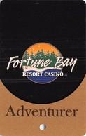 Fortune Bay Casino - Tower, MN - Adventurer Level Slot Card  (BLANK) - Casino Cards
