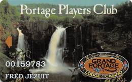 Grand Portage Casino - Grand Portage, MN USA - Slot Card With Coppert Arrow - Casino Cards