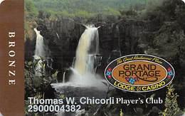 Grand Portage Casino - Grand Portage, MN USA - Slot Card - Casino Cards