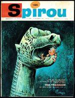 """SPIROU N° 1485 -  Année 1966 - Couverture """"HULTRASSON"""" De REMACLE Et DENIS. - Spirou Magazine"""