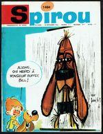 """SPIROU N° 1484 -  Année 1966 - Couverture """"BOULE Et BILL"""" Dessin Réalisé Par Le Chanteur ANTOINE. - Spirou Magazine"""