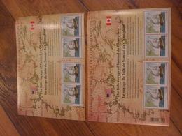 Canada/USA Stamps MNH 2156 Champlain Surveys/ East Coast Souvenir Sheet (2006) - 1952-.... Reinado De Elizabeth II