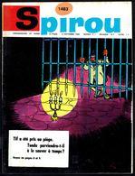 """SPIROU N° 1483 -  Année 1966 - Couverture """"TIF Et TONDU"""" De WIL Et ROSY. - Spirou Magazine"""