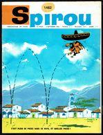 """SPIROU N° 1482 -  Année 1966 - Couverture """"LUCKY LUKE"""" De MORRIS. - Spirou Magazine"""
