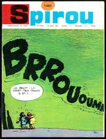"""SPIROU N° 1480 -  Année 1966 - Couverture """"TIF Et TONDU"""" De WILL. - Spirou Magazine"""