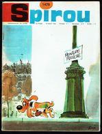 """SPIROU N° 1479 -  Année 1966 - Couverture """"BOULE Et BILL"""" De ROBA. - Spirou Magazine"""