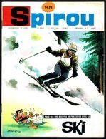 """SPIROU N° 1478 -  Année 1966 - Couverture """"LE SKI"""" De ROQUE. - Spirou Magazine"""