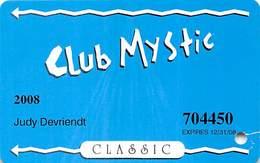 Mystic Lake Casino - Prior Lake MN - 2008 Slot Card - Casino Cards