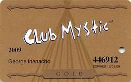 Mystic Lake Casino - Prior Lake MN - 2009 Slot Card - Casino Cards