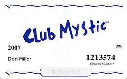 Mystic Lake Casino - Prior Lake MN - 2007 Slot Card - Casino Cards