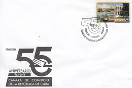 CUBA 2018  Vista FDC - Cuba