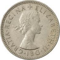 Monnaie, Grande-Bretagne, Elizabeth II, Shilling, 1963, TTB+, Copper-nickel - 1902-1971 : Monnaies Post-Victoriennes