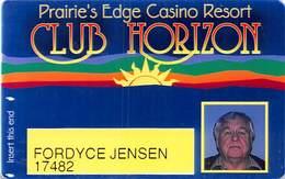 Prairie's Edge Casino - Granite Falls, MN - Slot Card - Casino Cards