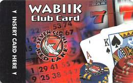 Seven Clans Casinos MN USA BLANK Slot Card - Casino Cards