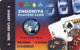Seven Clans Casinos MN USA Slot Card - Casino Cards