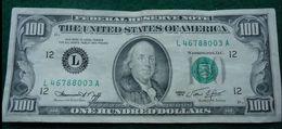 CRISP CLEAN 1974 SAN FRANCISCO (L) $100 FEDERAL RESERVE NOTE - Federal Reserve Notes (1928-...)