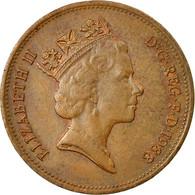 Monnaie, Grande-Bretagne, Elizabeth II, 2 Pence, 1988, TB+, Bronze, KM:936 - 1971-… : Monnaies Décimales