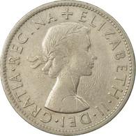 Monnaie, Grande-Bretagne, Elizabeth II, 1/2 Crown, 1954, TTB, Copper-nickel - 1902-1971 : Monnaies Post-Victoriennes